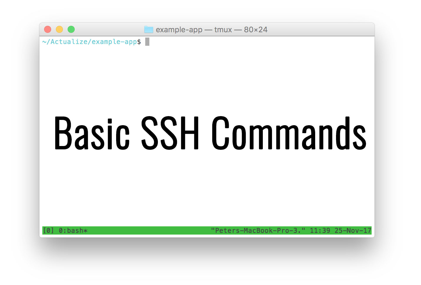 Basic SSH Commands - List of most used Putty commands in Linux
