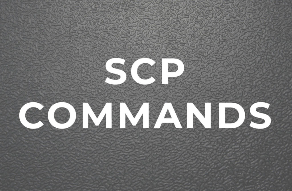 SCP Command to Transfer Files and Folders in Linux